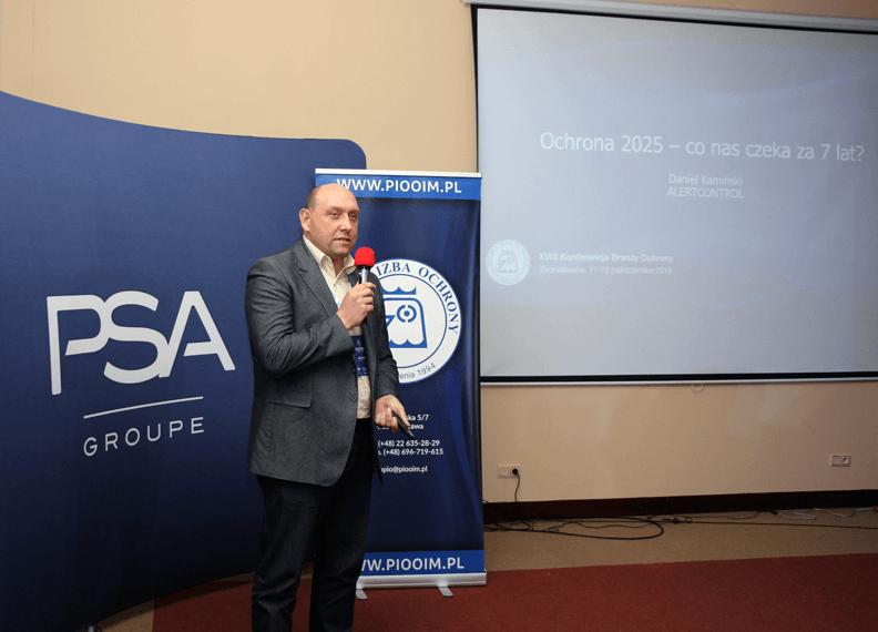 Wystąpienie na 8 konferencji PIO