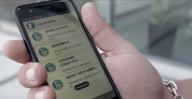 Adinfo aplikacja mobilna dla ochrony