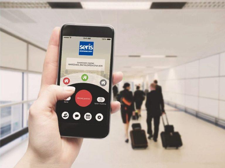 aplikacja mobilna mPanic
